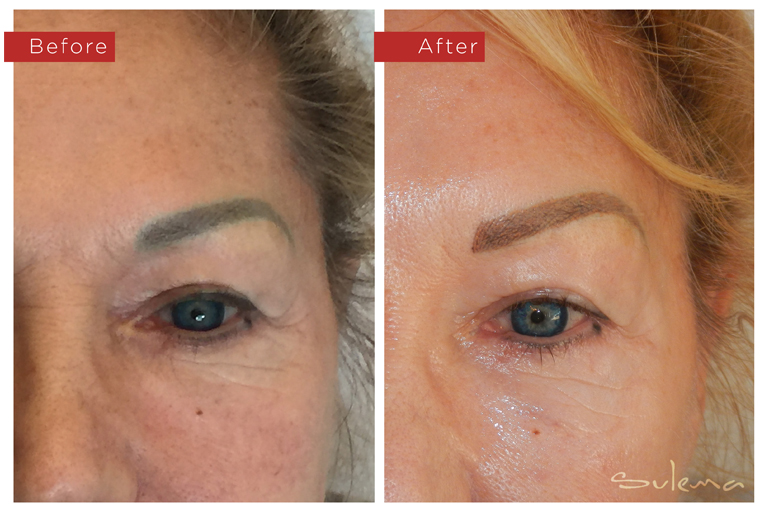 Sulema Permanent Makeup Portfolio - Eyebrow Color Correction